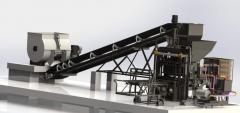 Planta para Prefabricados de Hormigon 5000 a 9000 u/dia