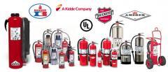 Recarga y mantenimiento de extintores Polvo Quimico Seco