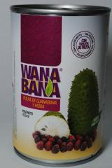 Soursop Blackberry Canned Pulp