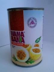 Passion Fruit Canned Pulp