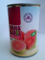 Guava Canned Pulp