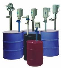 Bombas para trasvase de químicos, vaciado de tambores y fluidos de alta viscosidad