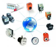 Sensores y medidores de movimiento rotavivo y