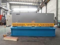 Cizalla Guillotina Hidráulica 12 x 3200 mm con Panel de Control
