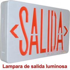 LAMPARA TIPO SALIDA LUMINOSA