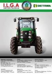 Tractores IIga con sus implementos