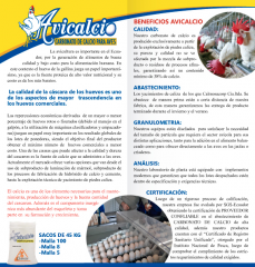 Carbonato de calcio para aves AVICALCIO