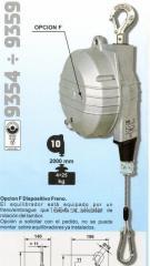 TECNA Balanceador 10-14 KG Art. 9356