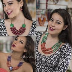 SET NECKLACE & EARRINGS (ASSORTED)