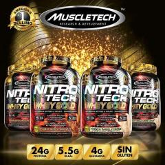 Nitrotech Whey Gold 5.5lb