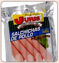 Salchicha de Pollo Premium