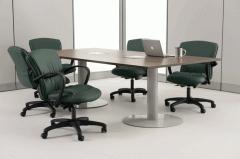 Mesas de Reunión y Tecnología Base Disco