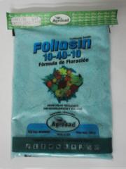 Abono fertilizante Foliasin Floración 10-40-10