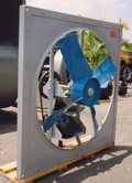 Ventiladores de flujo axial y tubo-axial
