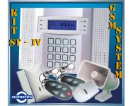 Alarma Inalambrica ST - IV con Linea Celular para