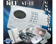 Alarma Inalambrica ST-III Compatible con Monitoreo