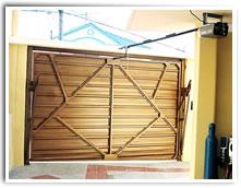 Puertas para garaje con superficie en plancha