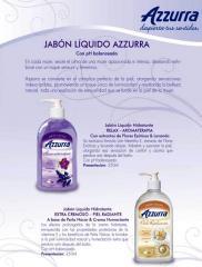 JABON LIQUIDO DE TOCADOR AZZURRA