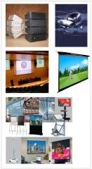 Sistemas de Sonorización y Video proyección