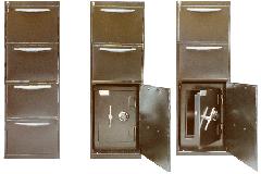 Archivador  con caja fuerte  Modelo 250
