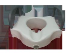 Toilet para adaptar al inodoro con barras de apoyo