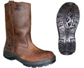 Bota Texana Rainfair / Botin 1/2 Caña Rainfair