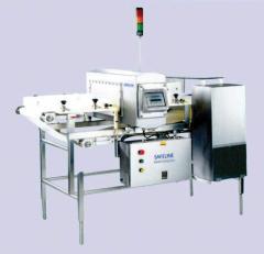 Detectores de Metal de Apertura Rectangular