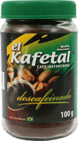 Café el Kafetal descafeinado instantáneo/soluble,
