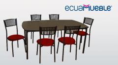Comedor Top 6 personas Ecuamueble