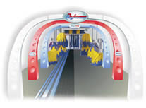 Túneles para lavado de automóbiles