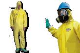 Trajes de Protección Chem Max1
