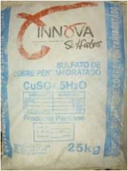 Sulfato de cobre,