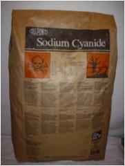 Cianuro de sodio en funda