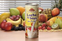 Leche de Soya con Frutas Oriental