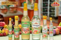 Vinagre Natural y con Frutas Oriental