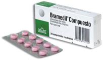 Medicamento espasmolitico-analgetico Bramedil