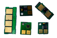 Chips para varios tipos de cartuchos de varias