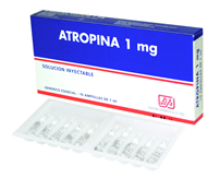 Bloqueador de receptores M colinérgicos Atropina