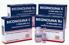Penicilina de depósito con acción prolongada