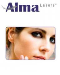 Láser accent para contorno corporal, Alma Lasers