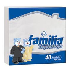 Servilleta Familia Lujo Triple Hoja x 40