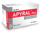 Apyral Plus (Paracetamol + Naproxeno sódico)