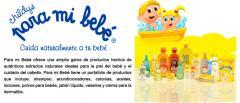 Productos hechos de autencitos extractos para bebe