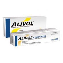 Analgésico, anticolinérgico Alivol®