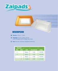 Pads absorbentes Zaipads