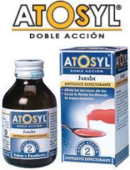 Jarabe antitusivo y expectorante Atosyl Doble