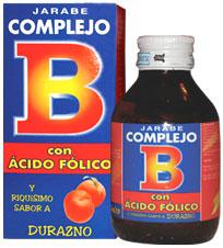 Suplemento de vitaminas del Complejo B con ácido