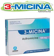 Antibiótico de amplio espectro 3-Micina