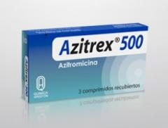 Antibiótico macrólido Azitrex®