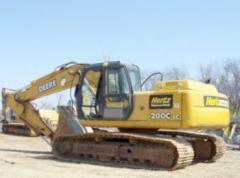Excavadora John Deere 200CLC/2005